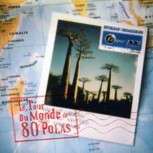 Couverture du livre le tour du monde en 80 polas