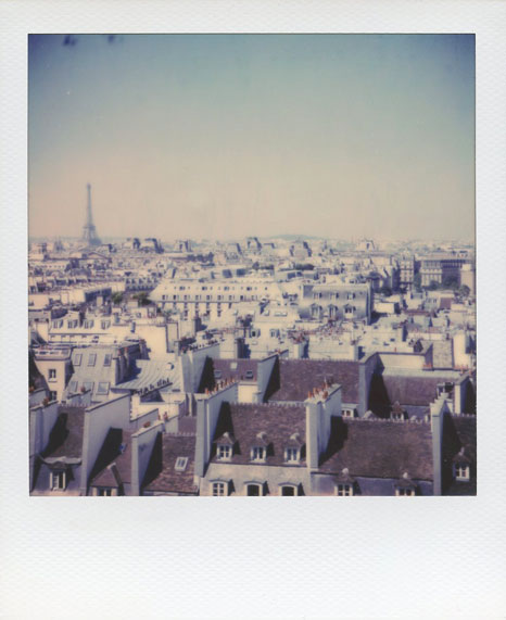 Polaroid Vincent Gabriel Paris 15